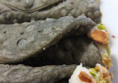 cannoli salati con crema di patate e baccalà_catering cerinella_Toscana