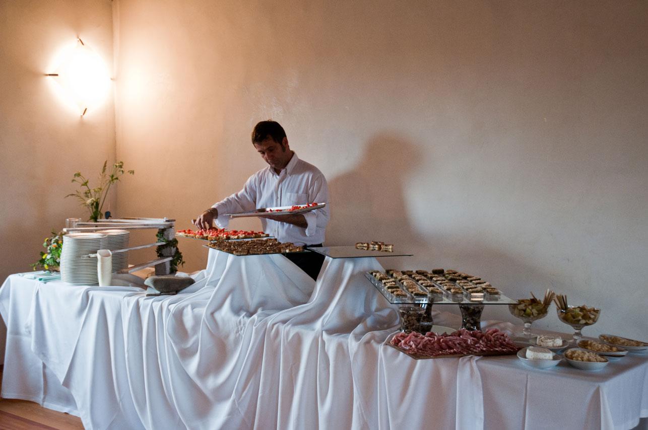 antipasto a buffet
