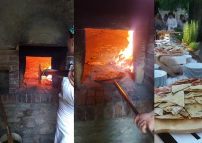 italian_pizza_dinner_valdorcia_italy_buffet_woodoven_catering_cerinella