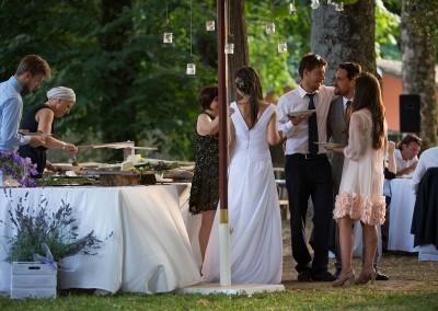 matrimonio Parco La Peschiera catering cerinella