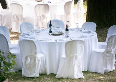 allestimento matrimonio parco la peschiera santa fiora toscana