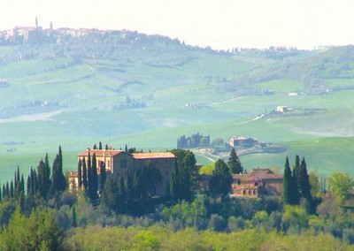 Borgo, historic house in Val d'orcia