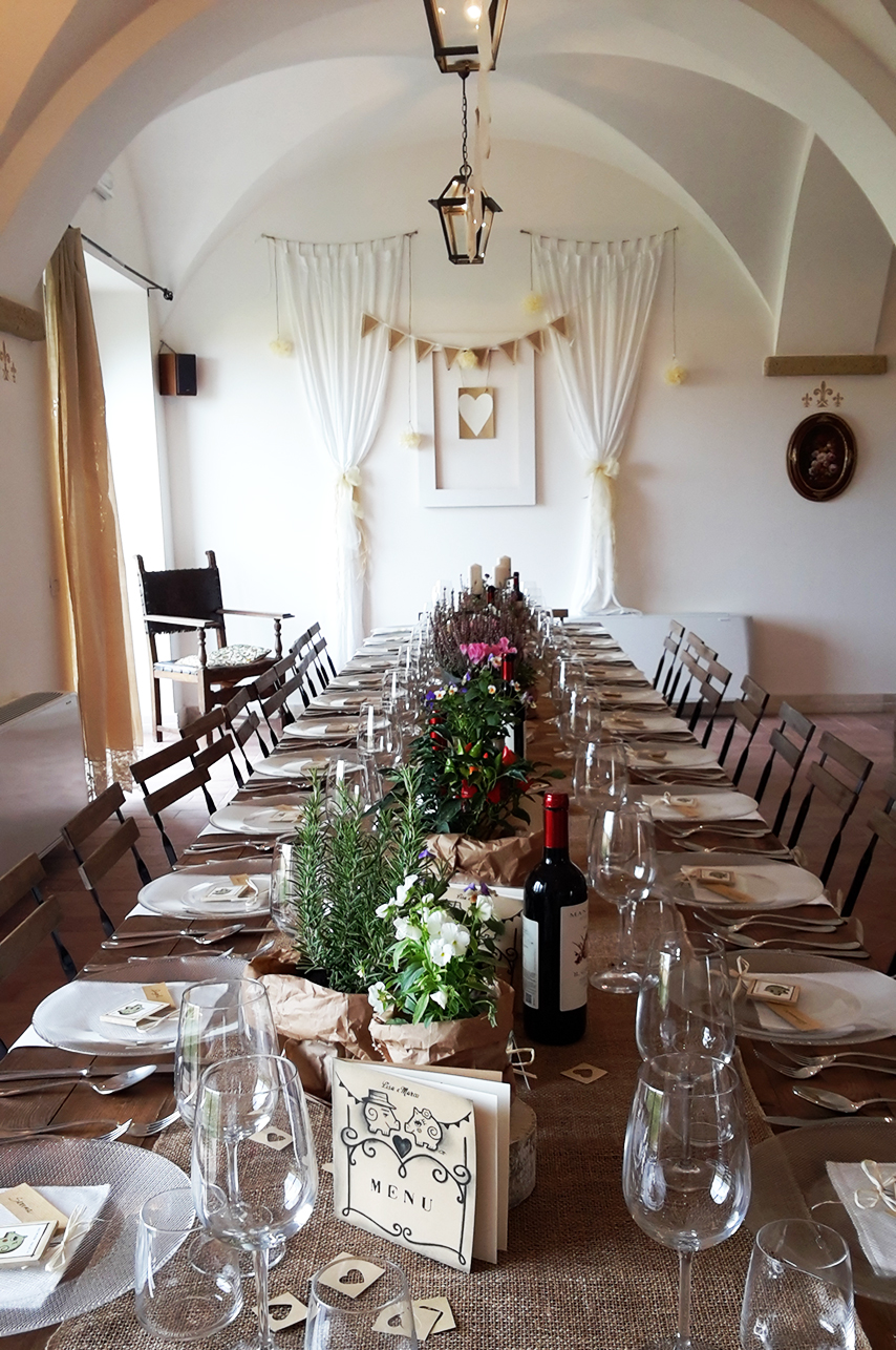 Catering Banqueting Services In Tuscany Maremma