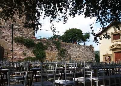 castle wedding_country chic wedding_tuscany_catering cerinella