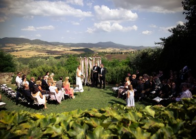 Location in Val d'Orcia, Pienza, Siena – Toscana