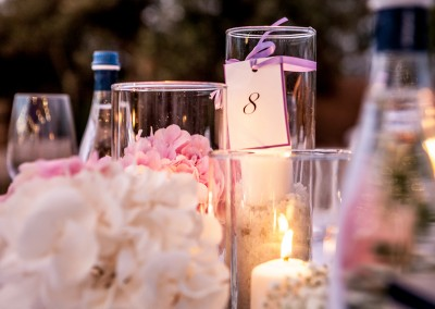 cerinella_wedding_tuscany_flower_candles_centerpiece