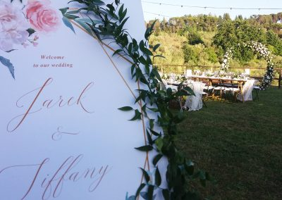 country chic wedding in tuscany_cerinella_catering_val d'orcia