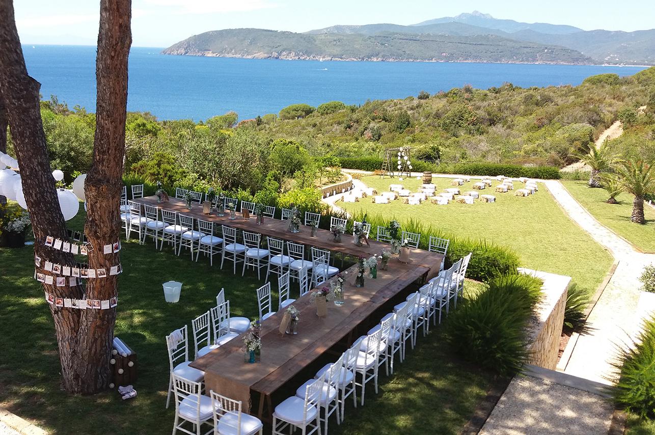Wedding venues at Argentario, Tuscan Coast & islands
