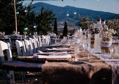 wedding Tuscany_pienza_val d'orcia_countrychic_table setting