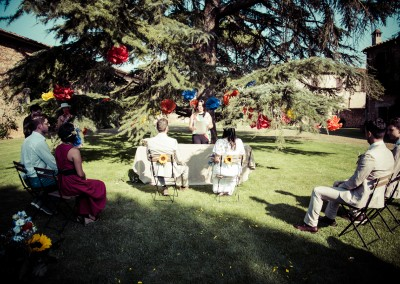 wedding tuscany - matrimonio in toscana - garden ceremony