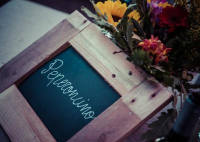 wedding tuscany - matrimonio in toscana - tableau con lavagna