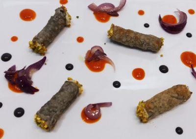 catering_cerinella_antipasto_cannoli_baccalà_matrimonio_toscana_tuscan food_wedding