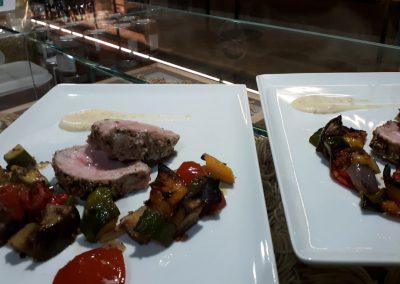 catering_cerinellasecondo_main course_pork_filetto di maiale_matrimonio_toscana_tuscan food_wedding