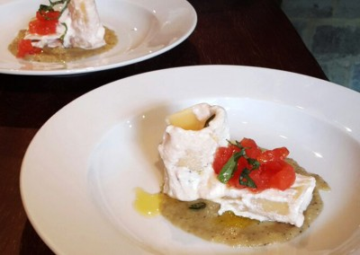 paccheri_crema_melanzane_ricotta_catering_cerinella_toscana_italia