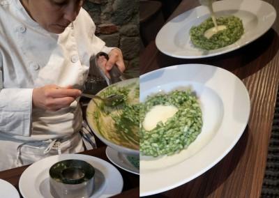 risotto_ortica_fonduta_pecorino_catering_cerinella_toscana_italia