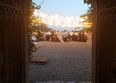 wedding Tuscany_villa_siena_wedding dinner_cerinella catering_sunset