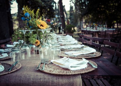 wedding tuscany - matrimonio in toscana - allestimento country