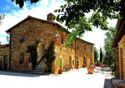 venue in val d'orcia, cerinella wedding