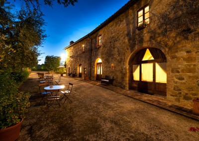 venue val d'orcia, apartments by night, cerinella wedding