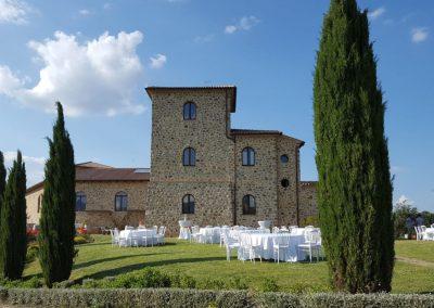 Azienda vinicola e agriturismo a Seggiano