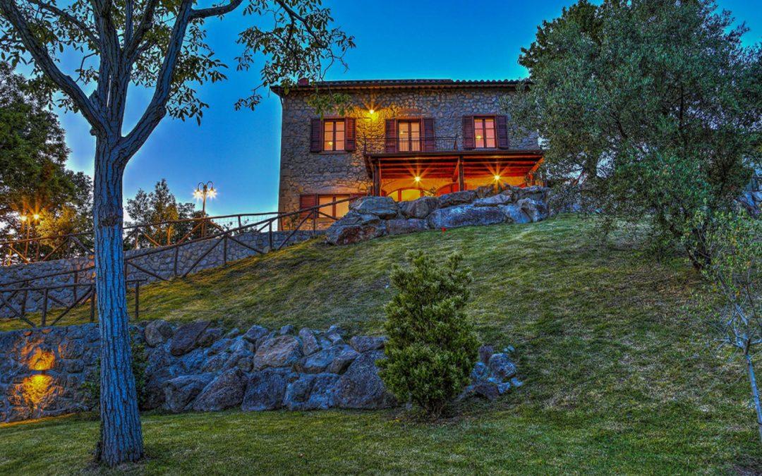 Villa in località Belvedere, Santa Fiora